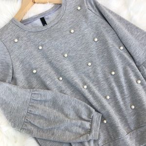 Kit from the kloth | Sweater with Pearls